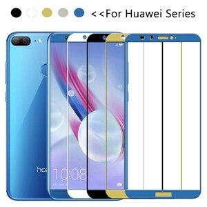 Image 2 - Cristal en Honor 9 Lite 9 vidrio templado claro para Huawei P20 Plus Honor View 10 V10 V9 9i 8 Pro P8 P9 Lite 2017 honor9 luz glas