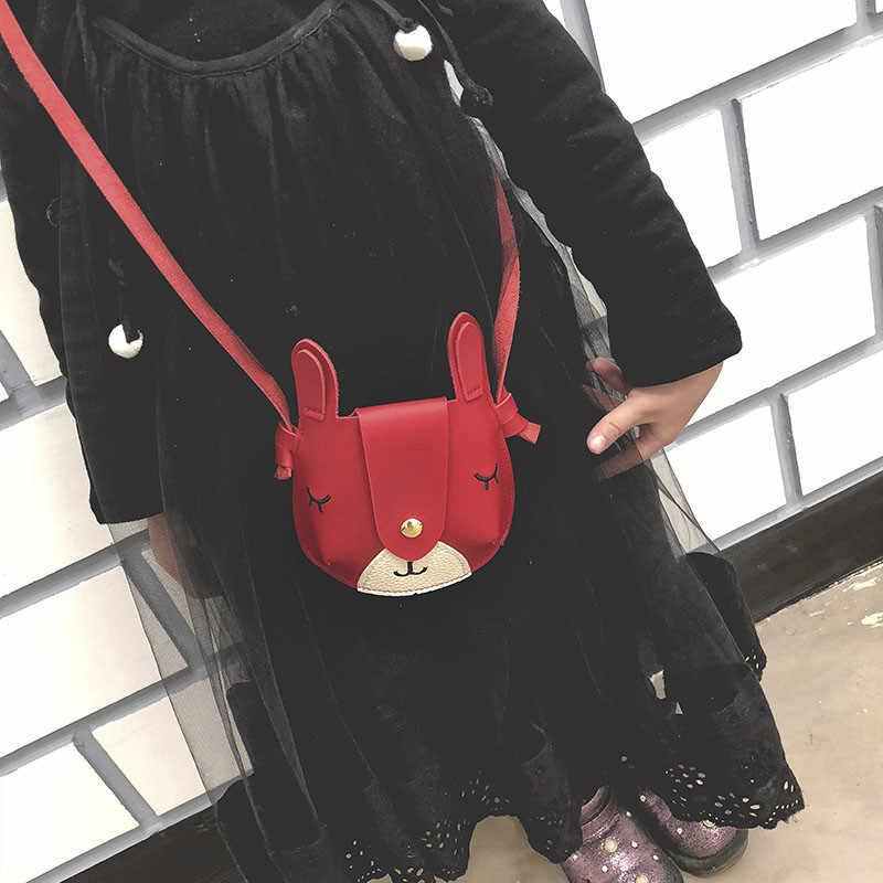 02e2bfba0 ... Gato encantador Mini PU bolsas de mensajero bolsos, bolso de princesa  niños de bebé juguetes ...
