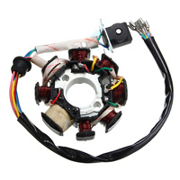 CARCHET Motorcycle Full Electrics Wiring Harness Coil CDI Spark Kits For C128 125cc 250cc ATV Quad Pit Dirt Bike Buggy Go kart