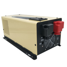 цена на Low frequency pure sine power inverter 24v to 220v 4000W (PS series) hybrid solar low frequncy inverter