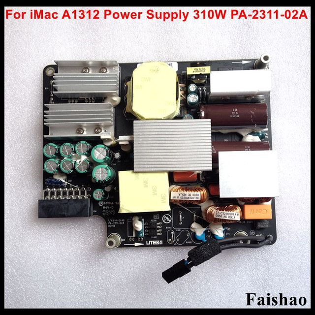 """Faishao Nieuwe Voeding Board 310W PA 2311 02A Voor iMac 27 """"A1312 Late 2009 Mid 2010 2011 Jaar"""