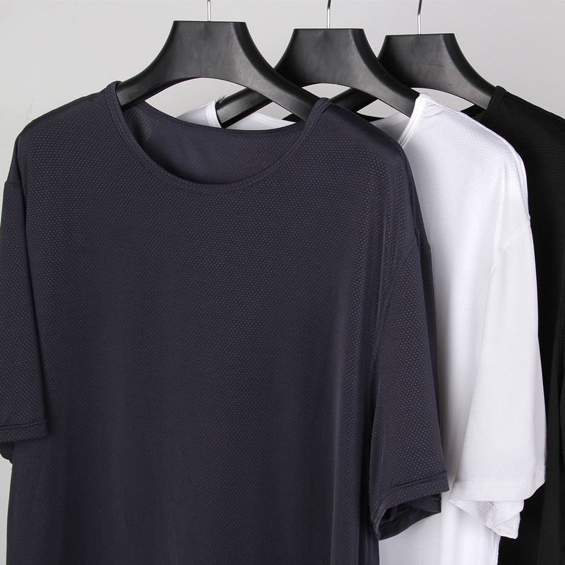 Short-Sleeve Do-Motion Thin Hollow-Out for Ventilation Will-Code Speed. T-Pity Solicitude