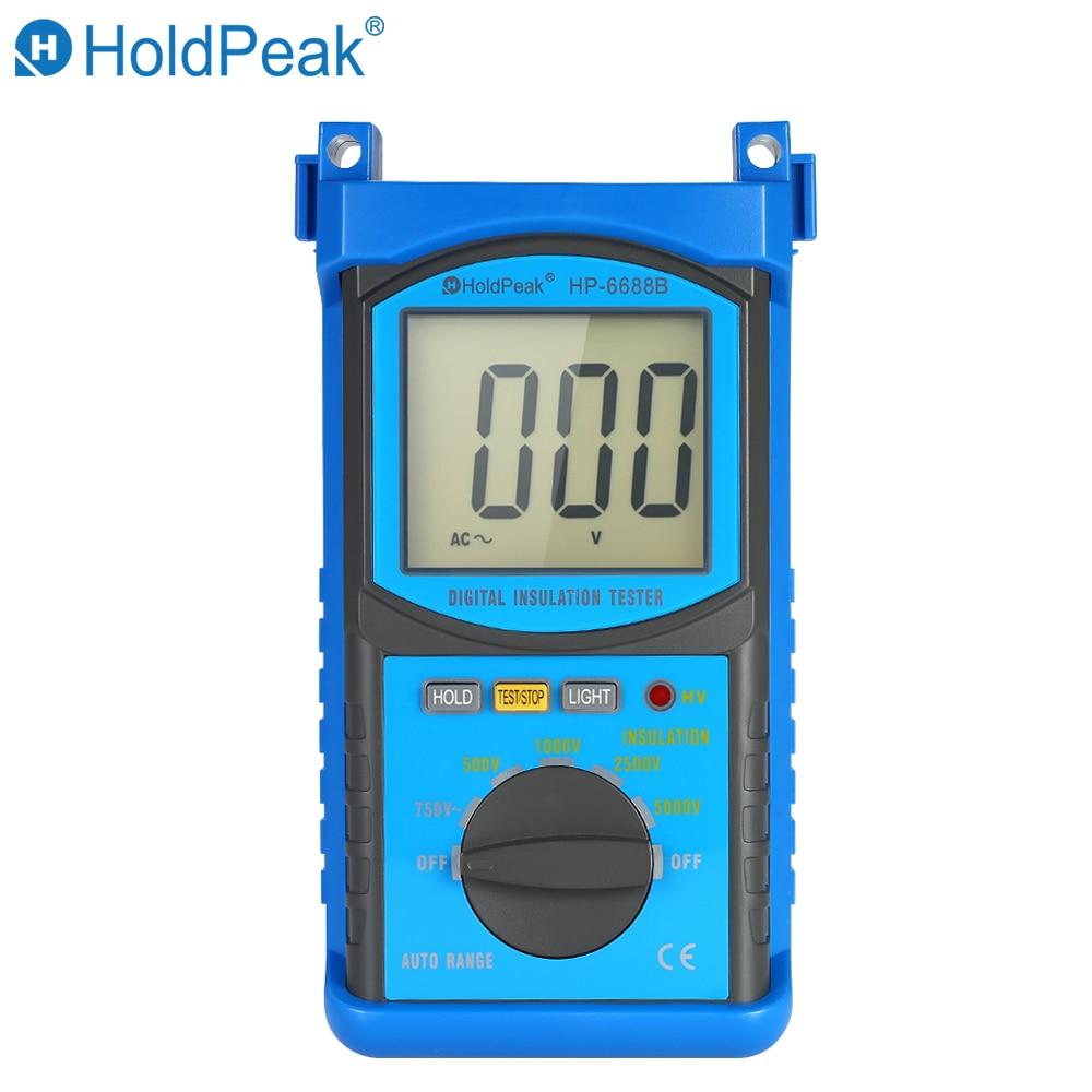 KKMOON HP-6688B Digital Insulation Resistance Tester Meter Megohmmeter MeggerKKMOON HP-6688B Digital Insulation Resistance Tester Meter Megohmmeter Megger