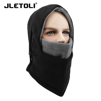 JLETOLI Warm Outdoor Winter Bandana Face Mask Scarf Cycling Skiing Facemask Bike Mask Fleece Ski Mask Sport Face Cover face mask