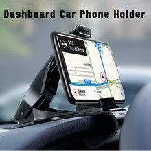 360 Degree Adjustable Car Dashboard Phone Holder Rotation Cl