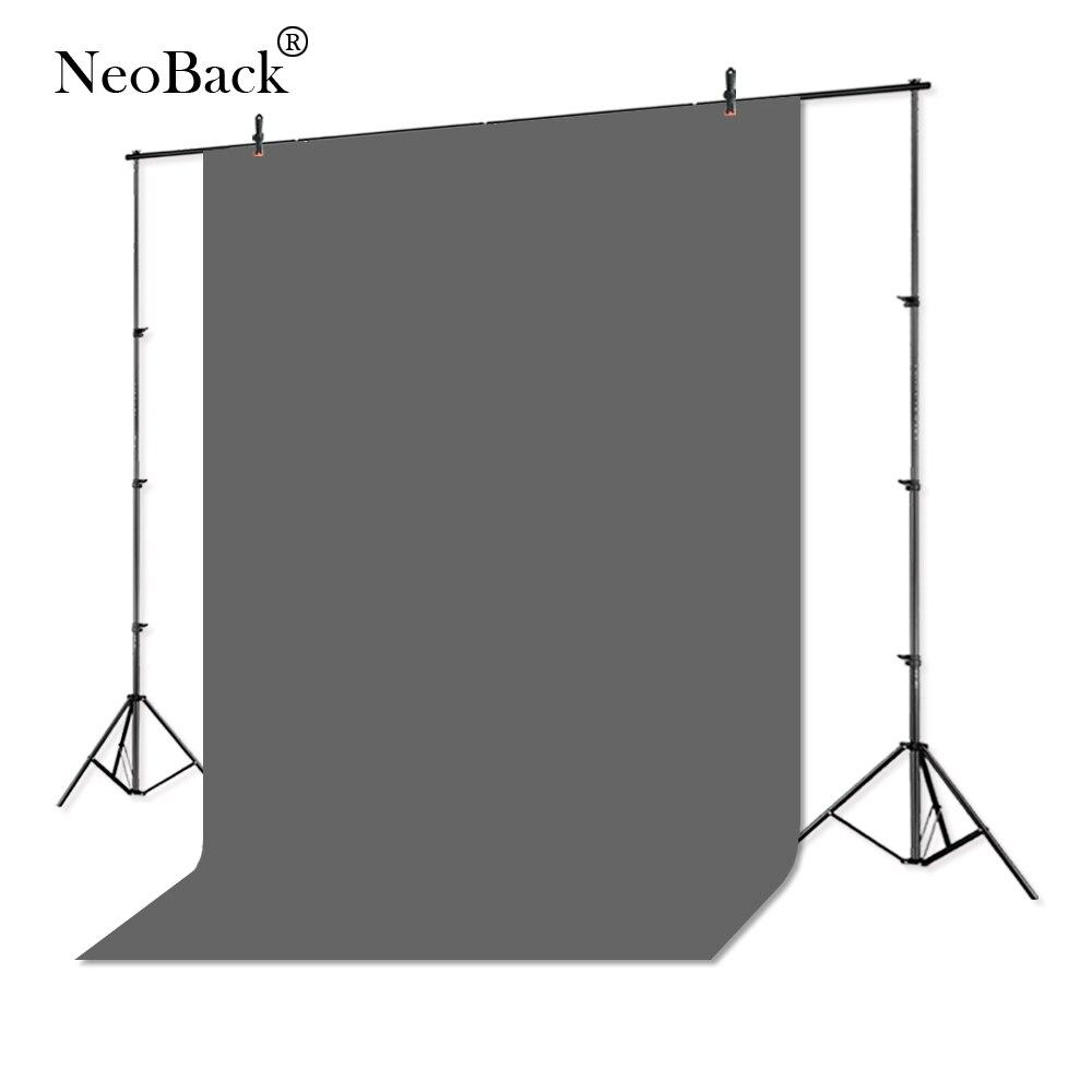NeoBack 300x300 cm Chromakey Photo fond photographie solide toile de fond Studio vidéo mousseline coton tissu vert écran CKG1010