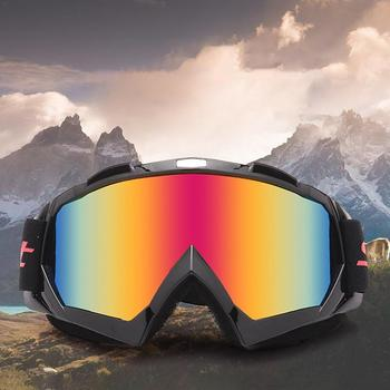 Xe máy Racing Eyewear Motocross Off-Road Dirt Xe Đạp ATV Googles Trượt Tuyết Trượt Tuyết Kính Cho Nam Giới Phụ Nữ Đầy Màu Sắc Ống Kính MT02
