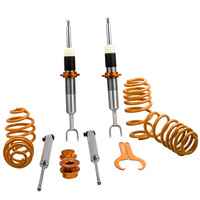 Lowering Coilovers for AUDI A6 4B C5 for VW PASSAT 3B 3BG Adjustable Suspension Coil Spring Coilovers Kit