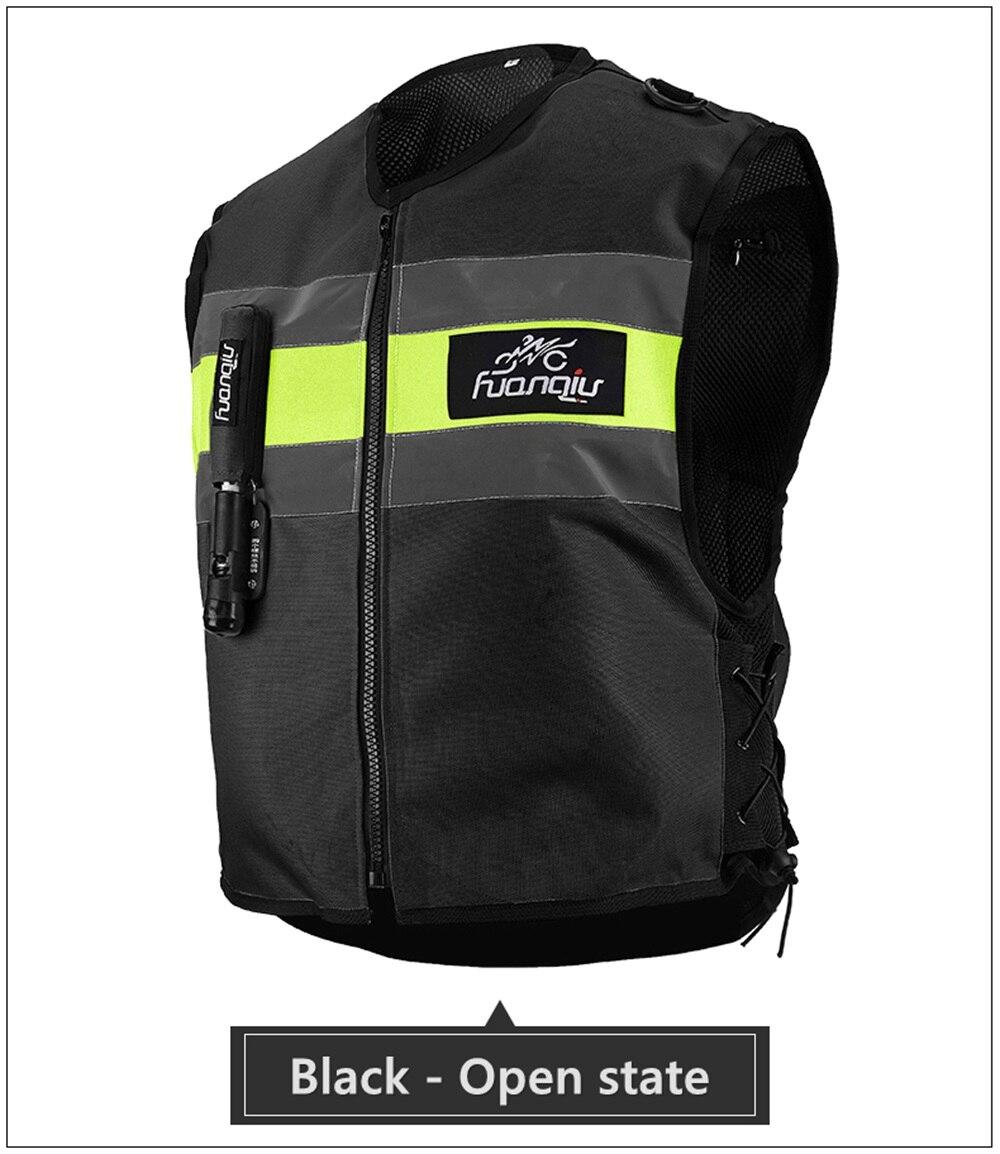 Gilet airbag moto protection chevalier equipement de course locomotive Anti-chute moto protection gear protection Jersey