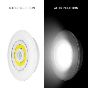 Image 3 - Coquimbo モーション活性化夜ライトバッテリ駆動のためのワードローブ階段 Pir モーションセンサー