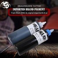 Black Tattoo Ink for Tattoo Kit Black Colos 8OZ Tattoo Pigment Original Import Supplies For Professional Artist