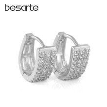 Женские серьги с кольцом e0925