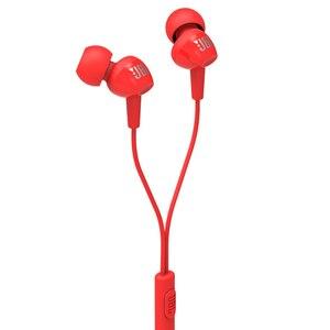 Image 2 - JBL C100SI 3,5mm Wired Kopfhörer Stereo Musik Headset Dynamische Kopfhörer Hände freies mit Mic fone de ouvido JBL ohrhörer