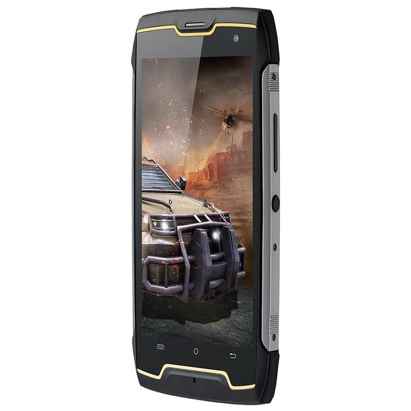 Cubot Kingkong IP68 étanche antichoc téléphone portable 5.0 MT6580 Quad Core Android 7.0 Smartphone 2GB RAM 16GB ROM téléphones portables - 3