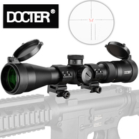 Tactical 2.5 12.5X40IR Rifle Optic Scope Sight Waterproof Shockproof with Fully Multi green Coated Optics for Archery Huntin