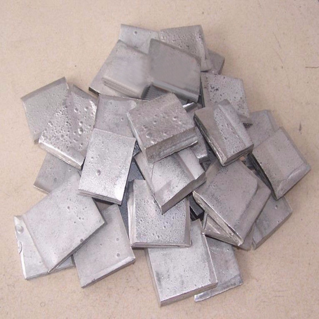 100g 99.99% metal puro da folha do lingote do níquel da pureza alta para galvanoplastia o mais novo
