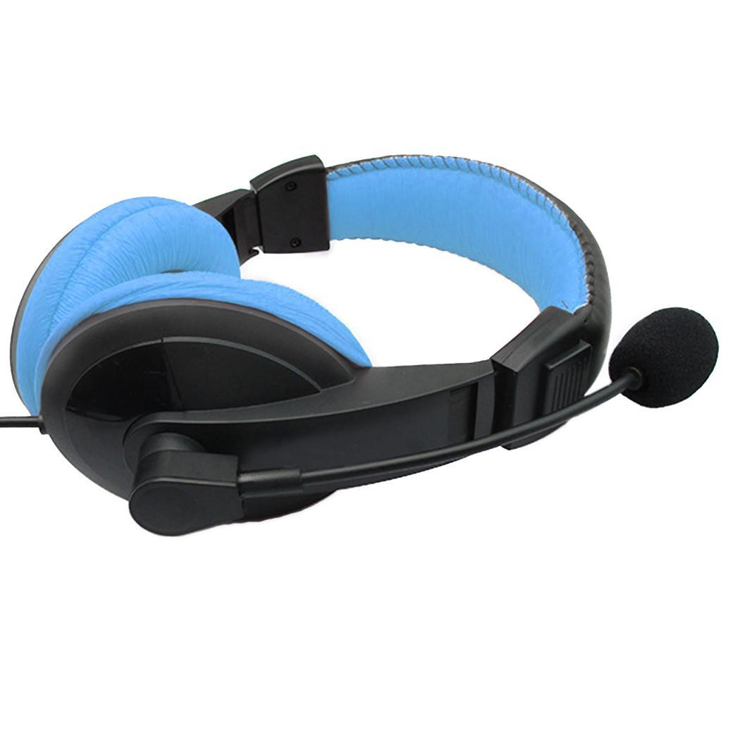 Wired Computer Gaming With Microphone Stereo Headphone Headband 40 mm 32 ohm 115dB 20-20000Hz Over Ears PVC