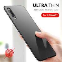 Slim Phone Case For Huawei P20 Lite P30 Pro Y9 Y7 Y6 Prime 2018 P Smart 2019 Mate 20 10 P10 Lite Pro Case PC Hard Cover Housing