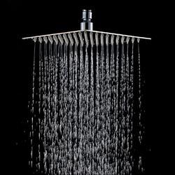 20x20 см 8 квадратных нержавеющая сталь дождь насадка для душа Дождь Ванная комната Топ опрыскиватель тонкий высокого давления