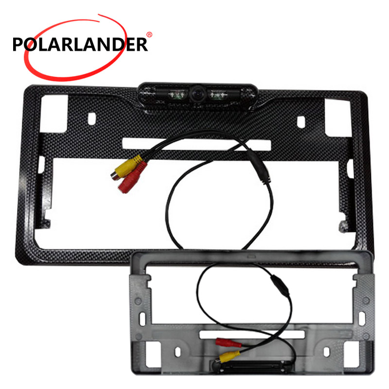 best selling Japanese Reversing Backup License Plate Frame camera Rear View Camera 170 degree image