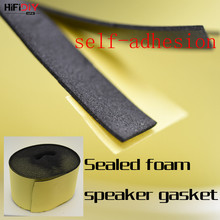 HIFIDIY Speaker Accessories DIY Installation junction box and speaker unit foam bonding (Width 12mm*thickness 1.5mm* length 1m(China)