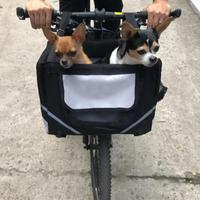 Pet Cat Dog Carrier Bike Basket Bag Travel Safety Belt Front Bicycle Carrier Pet Dog Bicycle Carriers Travel Bag New Arrival