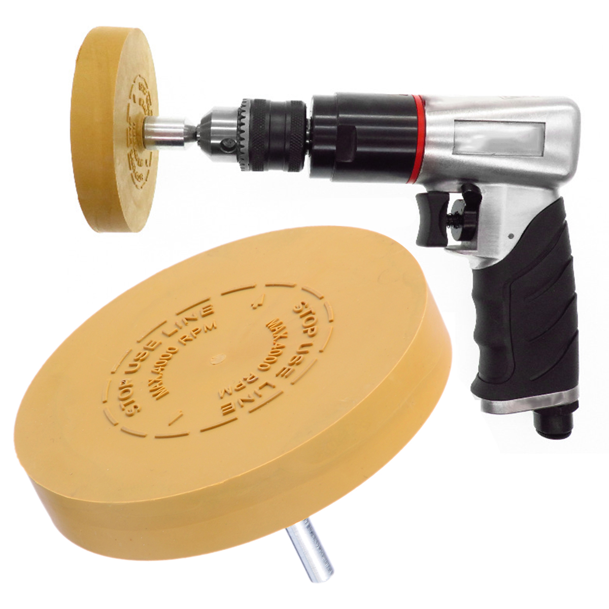 Mayitr Rubber Eraser Wheel Arbor Pinstripe Sticker Decal Tape Glue Adhesive Remover 3 5 inch 88mm in Abrasive Tools from Tools