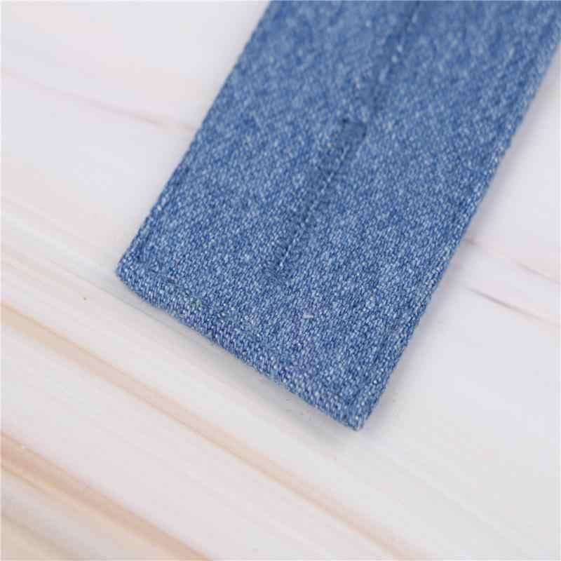 e60db0c29 ... 1 unid hombres mujeres ajustable Jeans Denim extensor de extensión  cintura botón Extender para pantalones de