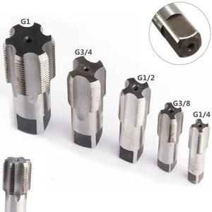 Image 1 - G1/8 1/4 3/8 1/2 3/4 1 NPT 1 HSS Taper Canna di Rubinetto A Vite In Metallo Filo Utensile Da Taglio