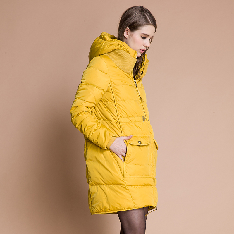Veste Hiver Nouvelle Moyen Qualité Femmes long Canard black Meilleur Manteau Matériel Parkas gold Beige red 2018 blue Duvet De Blanc Marque Mode Couture qS0twEw