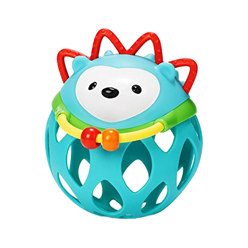 Learning & Education Sporting Baby Soft Rubber Hollow Rattle Cartoon Animal Teether Ball Educational Toy Gift For Kids Hedgehog Style Hedgehog