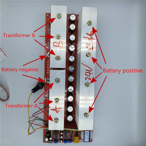 Image 5 - 24V 5000W 36V 7600W 48V 10000W 60V 72V 96V 12000W Foot Power Pure Sine Wave Power Frequency Inverter Circuit Board A Main Board