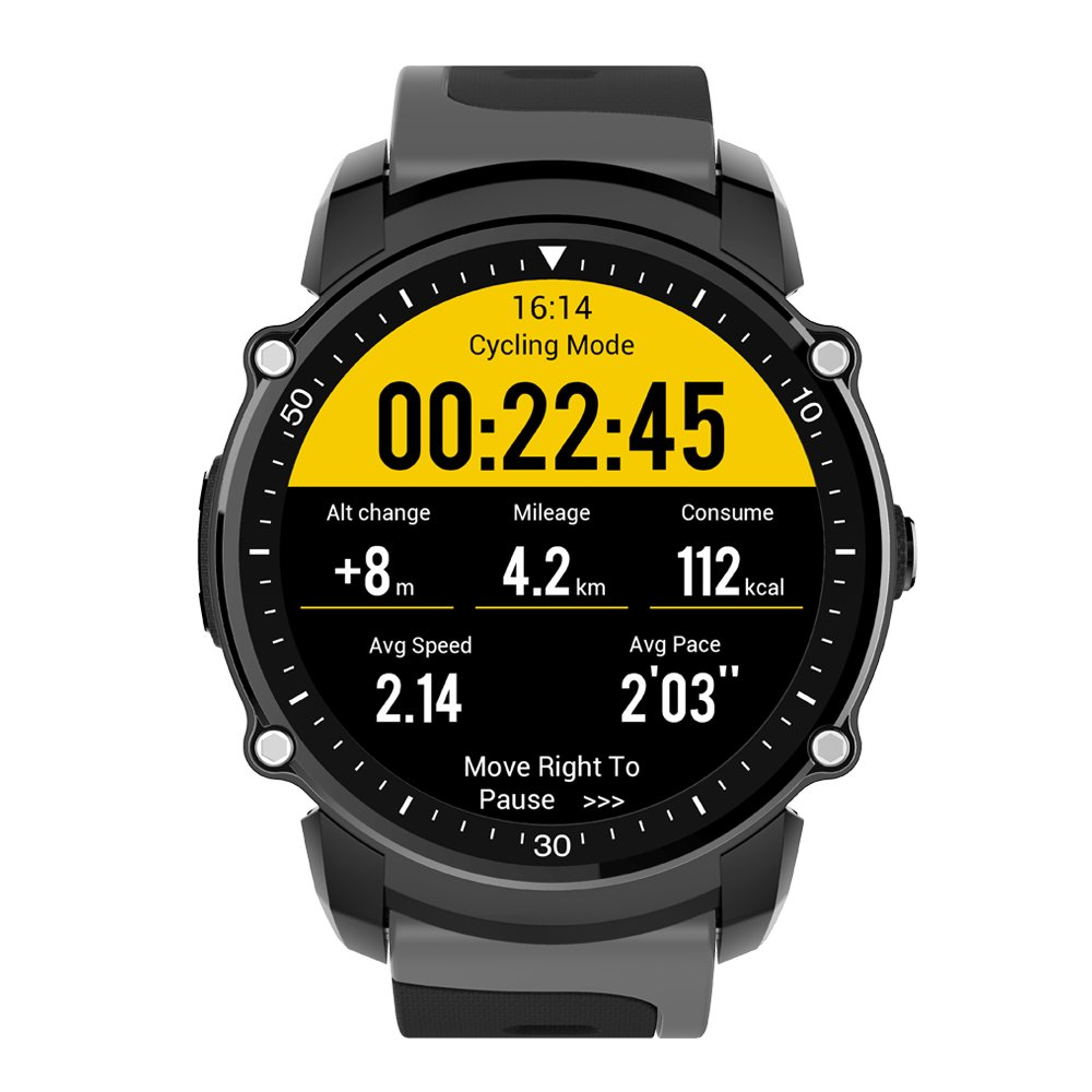Sports Smart Watch Android 5.0 And Ios 8.0 Ip68 Waterproof Heart Rate Monitoring Pedometer Gps Information ReminderSports Smart Watch Android 5.0 And Ios 8.0 Ip68 Waterproof Heart Rate Monitoring Pedometer Gps Information Reminder