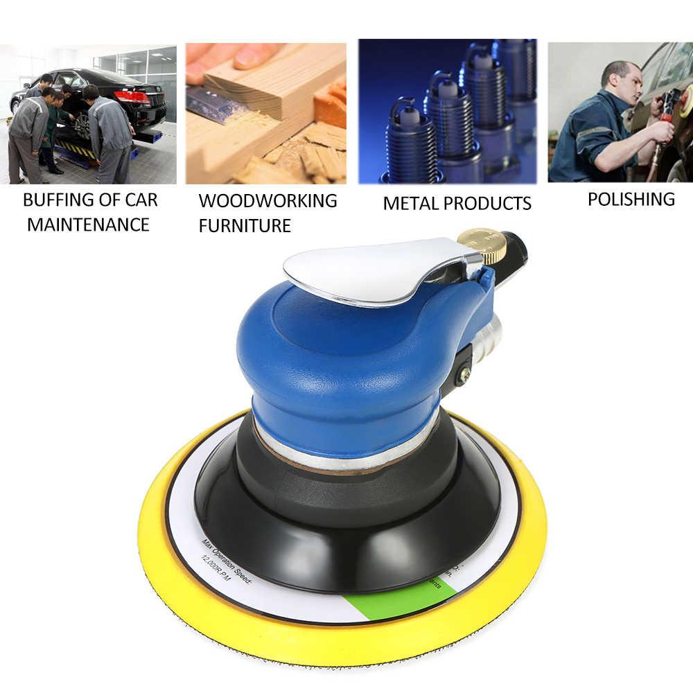 6 بوصة 10000RPM المزدوج عمل هوائي جهاز لسنفرة الخشب طلاء السيارات العناية أداة آلة تلميع النجارة الكهربائية طاحونة الملمع
