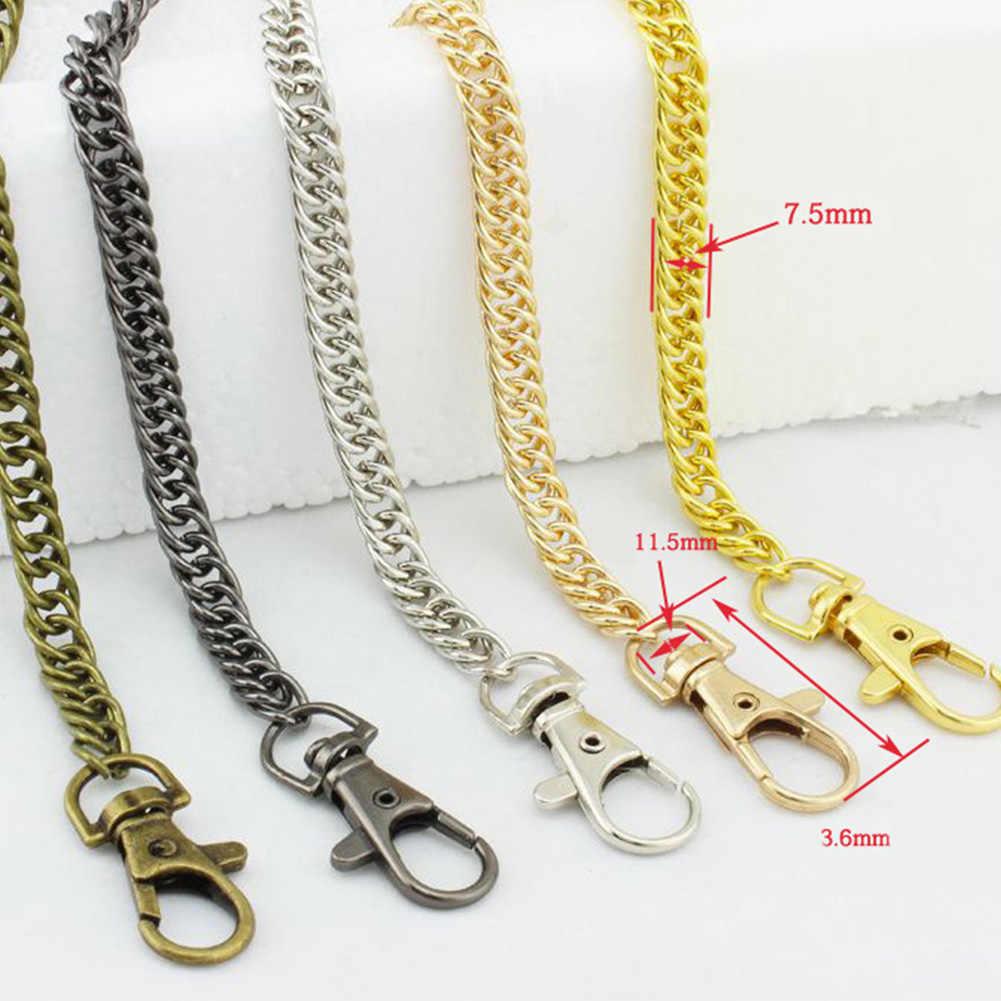120Cm Metal Chain For Shoulder Bags Handbag Buckle Handle Diy Belt For Bag  Strap Accessories Hardware 720e8378d28bf