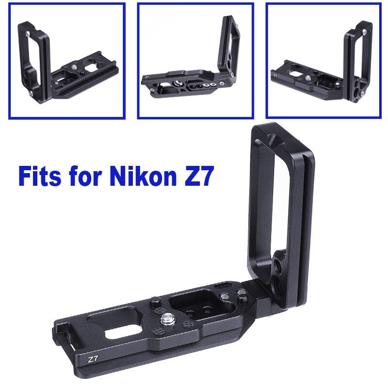 Attache rapide L plaque/support support main Markins poignée en alliage d'aluminium pour PN-Z7 + LN-Z7 pour Nikons Z6 & Z7 Markins Compatible