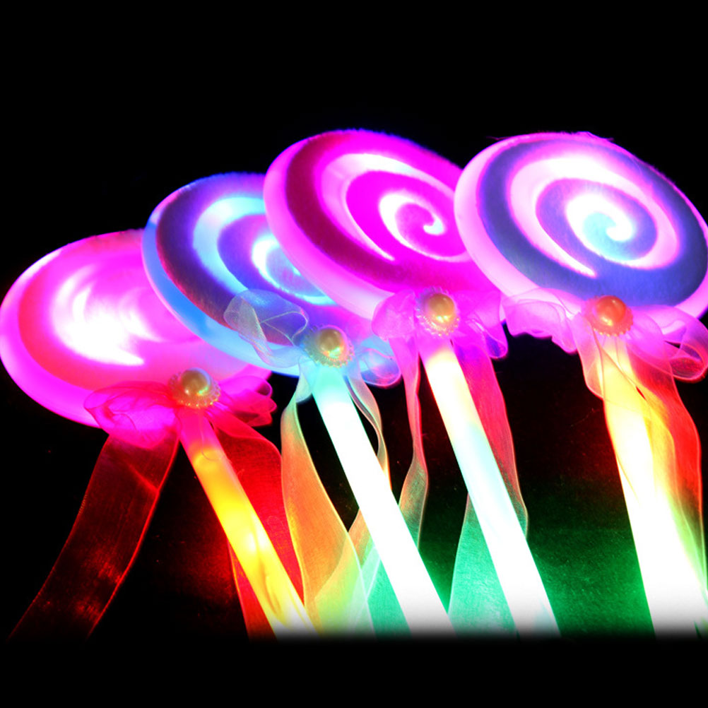 Novelty & Special Use Novelty Love Heart Led Glowing Flashing Sticks Children Blinking Fairy Wands Wedding Birthday Party Favor Gift Halloween