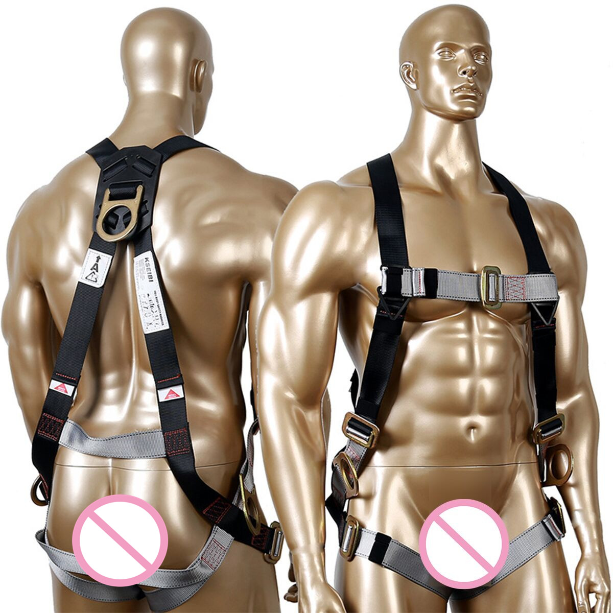 Belt Full-Body-Harness Protective-Equipment for Labor Working Construction-Worker Aerial-Work