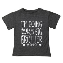 Baby Kids Tshirt Black Short Sleeve Tops Clothes 1pc Cotton Letter  Printed Casual Tee Boys Girls Toddler Children T Shirts