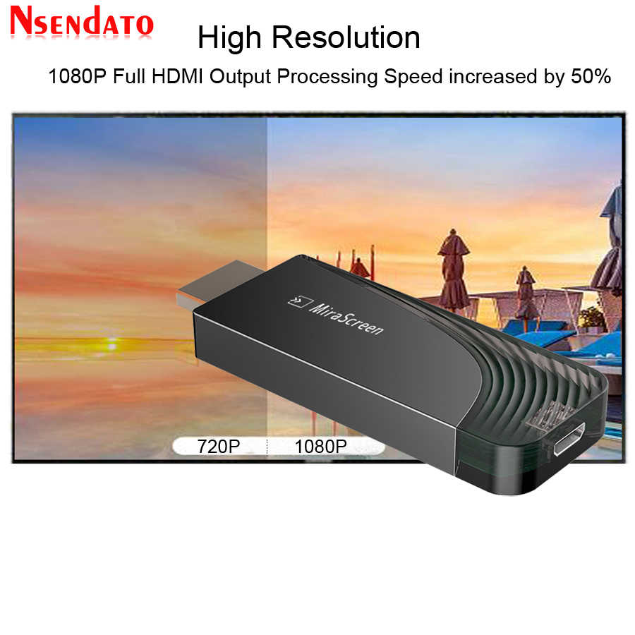 Dual Band 5G/2.4G 1080 P Draadloze Miracast DLNA AirPlay HDMI Media TV Ontvanger Dongle Wifi Display mirroring Screen TV Stick