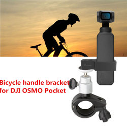 DJI OSMO POCKET Handheld Gimbal Stabilizer Bicycle Mount Holder Bike Bracket Clamp Stander Clip for DJI OSMO POCKET