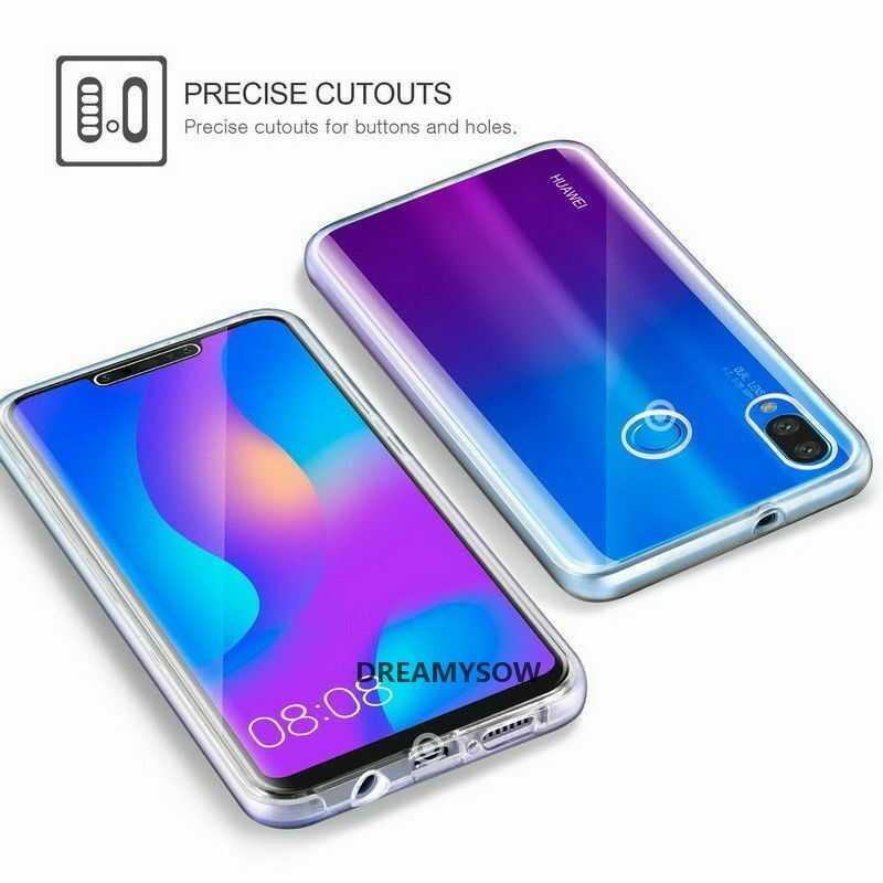 Đôi Trong Suốt Full Dành Cho Huawei P30 Pro Y6/Y7 Pro P Thông Minh 2019 P20 Giao Phối 10 20 Lite p9 P8 Lite 2017 Nova 2i Mềm TPU Bao