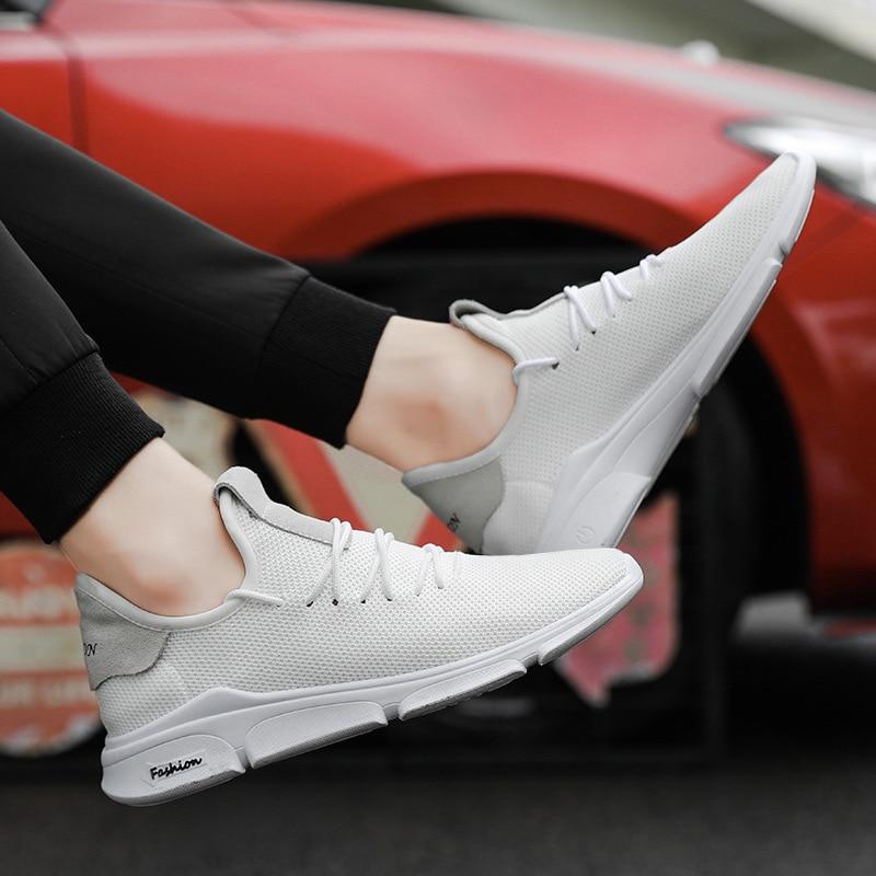 Xwwdvv O estilo Estudantes Estilo Apoiar Coreano Respirável Outono De Geração Preto Casuais Calçados Homens verde Uma Fly Dos branco Movimento Textura Masculinos Sapatos Hr6Hqxn7P