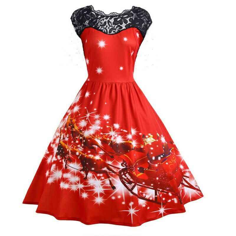6c6d37619a Detail Feedback Questions about Gamiss Women Christmas Lace Panel ...
