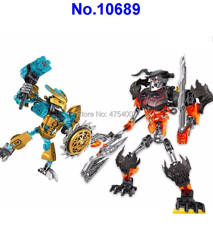 Toys & Hobbies Ambitious 10689 Bionicle Star Mask Maker Vs Skull Grinder Compatible 70795 Building Block Toy Skillful Manufacture Blocks