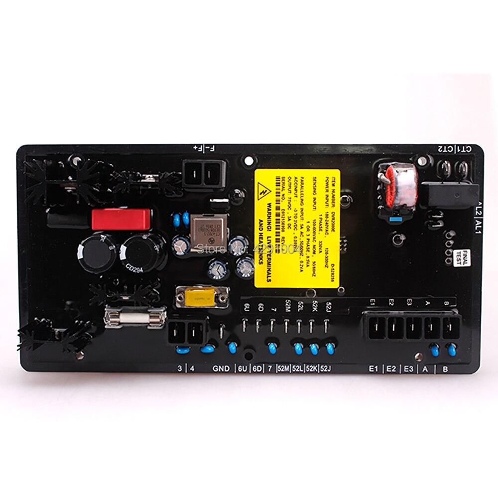 DVR2000E DVR 2000E Générateur Pièces AVR Numérique Haute Qualité Tension Régulateur pour Groupe Électrogène Vendu de L'usine