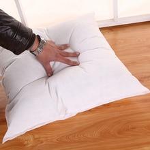 Подушка вставка Подушка 45*45 диванные подушки наполнитель диванная кровать квадратная подушка сердечник декоративная подушка