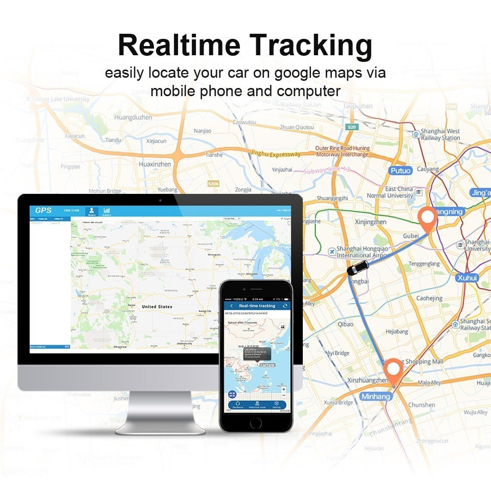 Image 4 - TK905 TK915 TKSTAR GPS Tracker 3G 2G WCDMA GSM LBS Car Location Magnet Realtime Tracking Long Standby Time Free Software-in GPS Trackers from Automobiles & Motorcycles