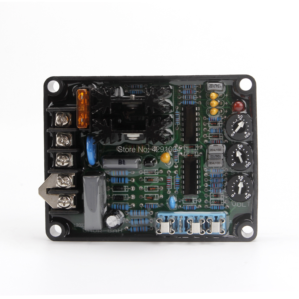 GAVR 8A GAVR-8A GAVR8A Universal AVR 3 Phase Automatic Voltage Regulator For Brushless Diesel Generator Set From China