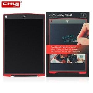 CHYI Epaper LCD планшет 12 дюймов цифровая доска для рисования беспроводная сенсорная панель трекпад блокнот подарки блокнот для детей